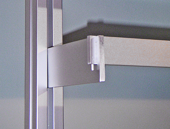 Notched Shelf Support Bracket