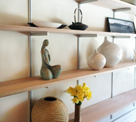 Rakks Residental Wood Shelving