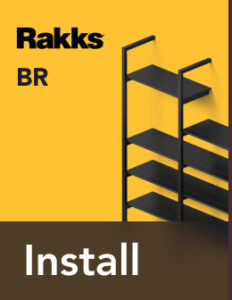 Rakks BR Pole Shelving Install Guide