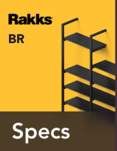 Rakks BR Pole Shelving Specifications