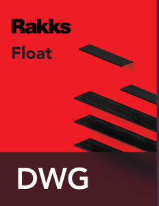 Rakks Floating Shelves DWG Files