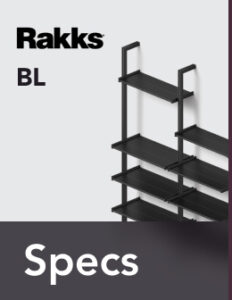 Rakks BL Pole Shelving Specifications