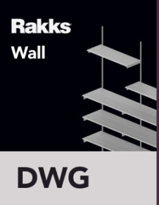 Rakks Wall-mounted Shelving DWG Files